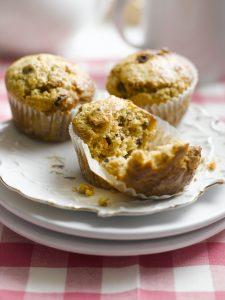 Chantenay and raisin breakfast muffins